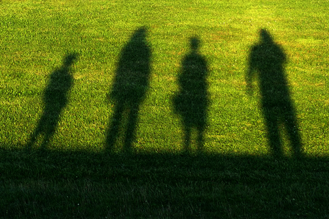 家族そろっての写真