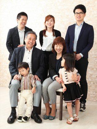 家族集合写真
