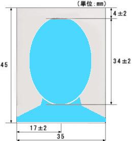 パスポート規格jpg