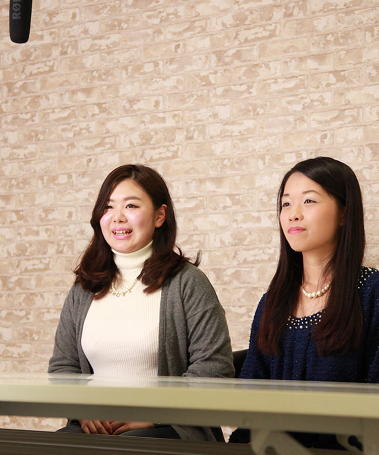 【2015年度 就活生】小売業 村岡さん(仮名)IT業界 井戸さん(仮名)