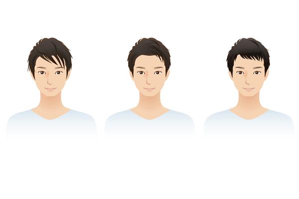 ベスト3 黒髪